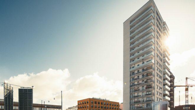 Konstrukcja budynku Blicken Haningeterrassen zdobywa nagrodę specjalną